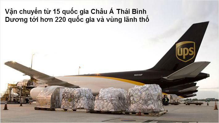 Dịch vụ chuyển phát nhanh quốc tế UPS