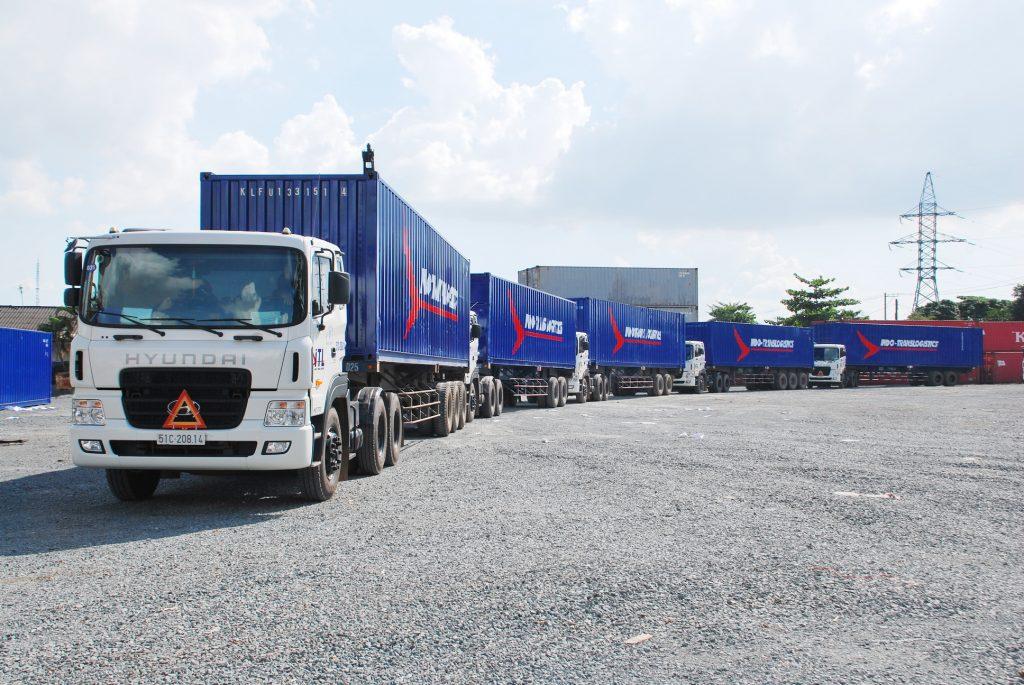 Chi phí vận tải chiếm tỷ trọng cao trong chi phí logistics.