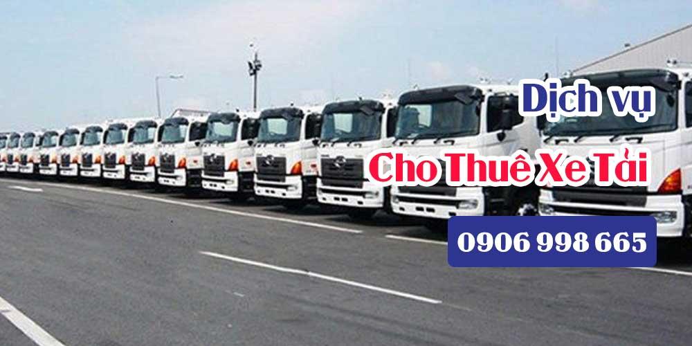 Dịch vụ cho thuê Xe Tải Chở Hàng tại TP.HCM