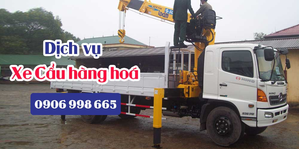 Dịch vụ cho thuê xe cẩu hàng tại TP.HCM