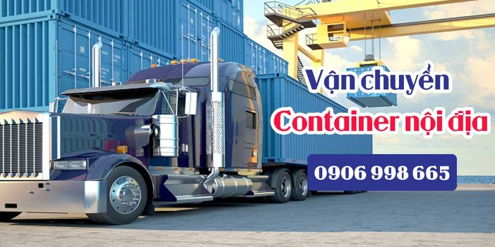Vận chuyển container nội địa giá rẻ