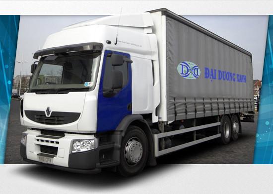 Công ty vận tải Đại Dương Xanh vận chuyển hàng hóa uy tín, có kinh nghiệm.