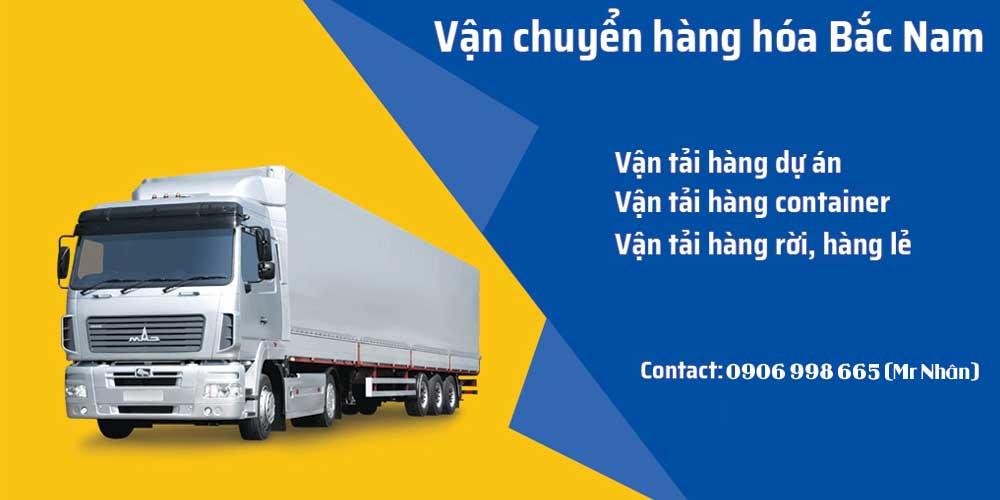 Dịch vụ vận chuyển hàng hóa Bắc Nam giá rẻ an toàn
