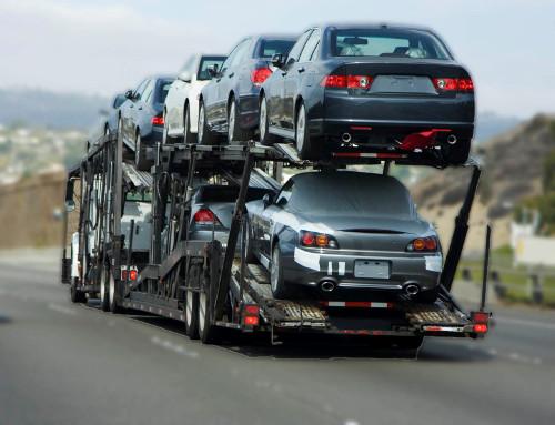 Xe ô tô được vận chuyển liên tục Nam Bắc