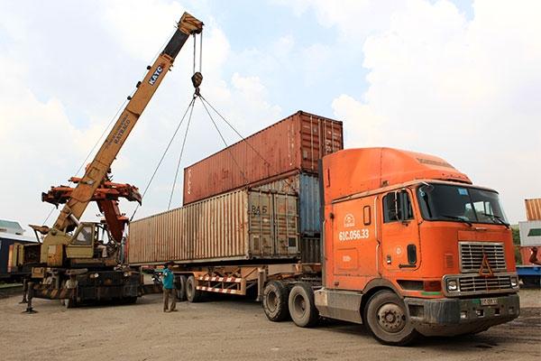 Vận tải Container rất phổ biến hiện nay