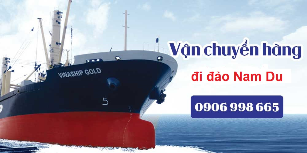 Hình ảnh tàu chở hàng đi đảo Nam Du của Công ty vận tải Đại Dương Xanh