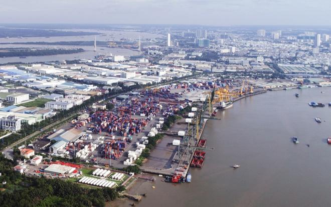 Cảng biển giao thương hàng hóa Việt Nam - Campuchia