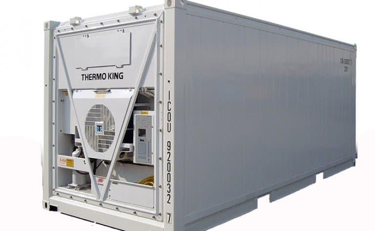 Container vận chuyển hàng lạnh có thiết kế khác với container thường
