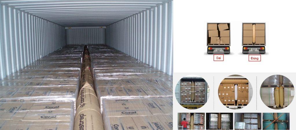 Luôn kiểm tra hàng hóa trước khi đóng lên Container lạnh