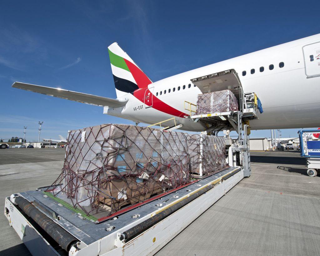Vận chuyển hàng đông lạnh bằng máy bay