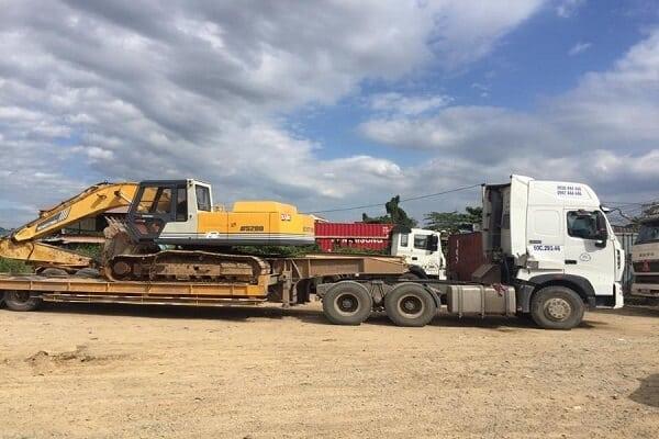 Báo giá vận chuyển máy công trình Bắc Nam