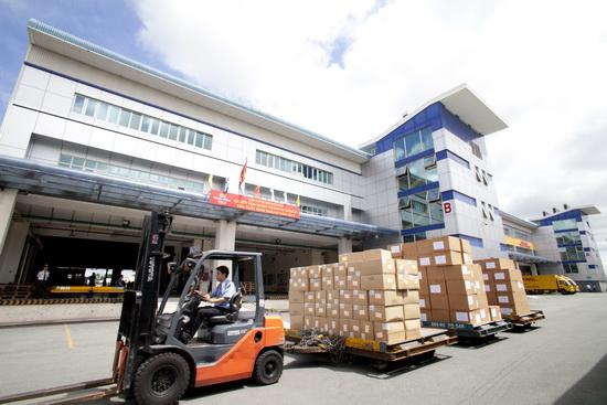 Hàng hóa sẽ được tập kết đến kho bãi chuyên dụng
